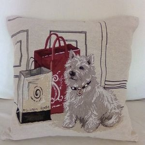 Terrier Accent Pillow Cover